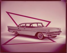 "detroitlib: "" View of a 1958 Chrysler New Yorker sedan. Label on sleeve: ""Chrysler Corporation, Chrysler, 1958."" • Courtesy of the National Automotive History Collection, Detroit Public Library """