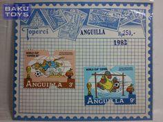 Perangko Anguilla 1982 Disney World Cup Spain