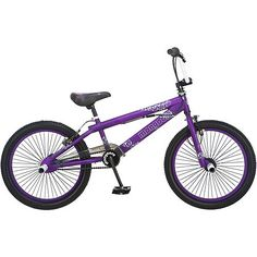 "Mongoose 20"" Girls' Freestyle Hoop D Bike - me and my husband got Mongoose BMX bikes! mine is epic purple!"