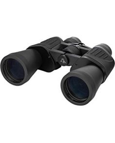 10x50 Traveling Binoculars – with Multi Coated Lenses, Porro Prism, and Just Right Rubberized Grips – Carrying Case, Strap, Microfiber Cloth, and Protective Eye Cups Included