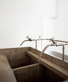 Distillation apparatus forms centrepiece in Ciguë's Aesop Nottingham store Desk Inspiration, Interior Inspiration, Bathroom Inspiration, Architecture Details, Interior Architecture, Bathroom Spa, Bathroom Ideas, Design Furniture, Elegant Homes