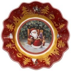 Toy's Fantasy Small Bowl : Santa's Story Time 6 1/2 in - Villeroy & Boch