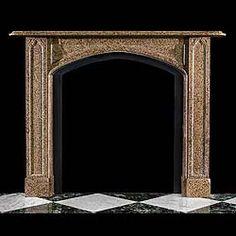 Chimeneas de m rmol en pinterest chimeneas repisas de - Repisas de marmol ...