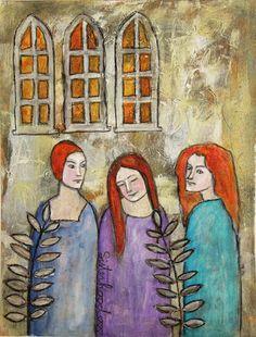 Inky Dinky Doodle: LifeBook Week31: Sisterhood