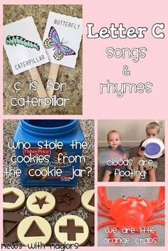 News with Naylor's: Letter C: Songs & Rhymes