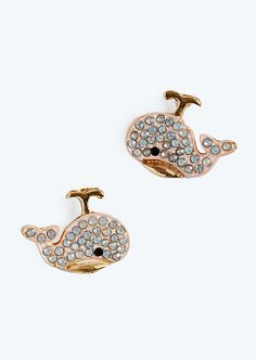 Pave Whale Studs | Earrings | rue21