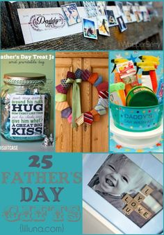 25  DIY Fantastic Father's Day Gift Ideas