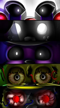 FNAF | ~Extra EyEs~ by Sanity-Paints.deviantart.com on @DeviantArt