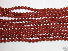 STONE BEADS-BROWN GOLDSTONE-LOOSE BEADS-10 MM-18 COUNT-$4.09 | eBay