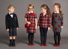 We can't get enough of Dolce & Gabbana's sporty prints for boys and red and black ladybug motifs for girls. Shop our favourite looks from the AW 2017 Collection with the Dope Outfits, Kids Outfits, Toddler School Uniforms, Black Ladybug, Kids Fashion Blog, Dolce And Gabbana Kids, Little Girl Fashion, Stylish Kids, Kid Outfits