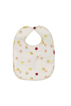 macarons Bib BIBI. This stylish bib is a great gift for newborns. Important for the parents is that the size is big enough to really use it when the feeding begins. MACARONS RIPP made from 100% organic cotton (GOTS), with GOTS certificated print made in Germany