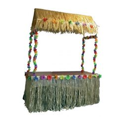 Go all out at your Hawaiian Luau and serve your tropical food and drink from your very own Tiki Bar! For a Hawaiian style Luau or a Tropical Beach or Pool Party. Tropical and Hawaiian Fancy Dress and Decorations for an ultimate summer Caribbean Beach or pool party.