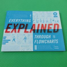 Everything Explained Through FlowchartsEverything Explained Through Flowchartsby Doogie HornerWilliam Morrow Paperbacks2010, 160 pages, 10.8 x 8.2 x 0.4 (paperback)$12 Buy a copy on Amazon Everything Explained takes a hilarious look at popular culture via charts. The charts consist of flowcharts and Venn diagrams, as well as tables, radar charts and other chart-like designs. The subjects vary from the surreal (types of alien sex, a wrestling championship with competing U.S. Presidents, ...