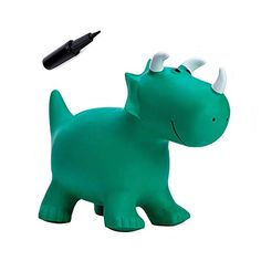 Babe Fairy Jumping Horse with Pump-Bouncy Horses Animals Hopper-Toddlers Inflatable Bouncing Horse Toys (Green Dinosaur) Toddler Gifts, Toddler Toys, Baby Toys, Unique Toys, Unique Gifts, Soft Play Equipment, 4 Year Old Boy, Kids Suits, Child Day