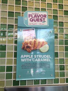 Fro-Yo Girl Speaks: New Flavor Quest flavor - Apple Strudel with Caramel at Yogurtland, April 2016
