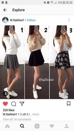 Waist Skirt, High Waisted Skirt, Black Skater Skirts, Fashion, Moda, High Waist Skirt, Fashion Styles, Fashion Illustrations