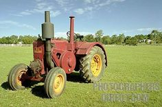 Stock Photography image of A rare antique tractor , a 1949 Kelly and ...