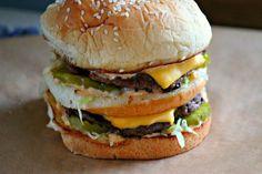 Comfy Cuisine: How to Make a Big Mac at Home