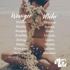 Weniger - Mehr