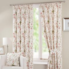 Red Alice Curtain Collection | Dunelm