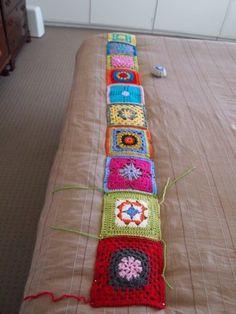 How to block crochet squares