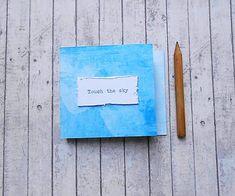 eWELLyne / Touch the sky/trhací zápisníček Scrapbooks, Sky, Touch, Drawings, Beautiful, Paper, Heaven, Scrapbook Albums, Heavens