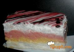 Šarena sladoled torta