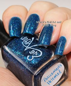Ever After Polish Policemans Helmet swatches