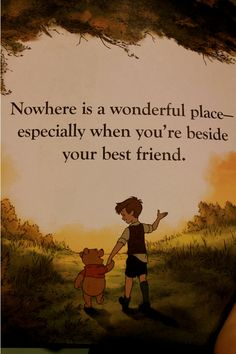 Nowhere Is A Wonderful Place
