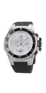 Ανδρικό Ρολόι Χρονογράφος COBRA με λουρί σιλικόνης Watches For Men, Men's Watches