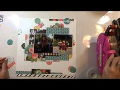 Scrapbook Process #120: Disney Hello (Simple Stories) - YouTube