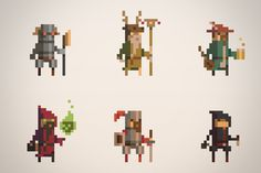 Overview     Character classes       Fauna       Primal       Undead       Infernal      Arcane       Assorted sprites.     See them in act...