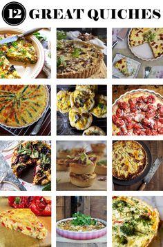 12 great quiche recipes