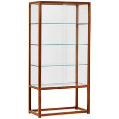 Glass Cabinet of the Apartment Franz Hagenauer | From a unique collection of antique and modern cabinets at https://www.1stdibs.com/furniture/storage-case-pieces/cabinets/