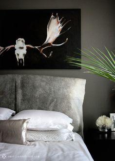 Erika Brechtel's bedroom.  smallshopstudio.com