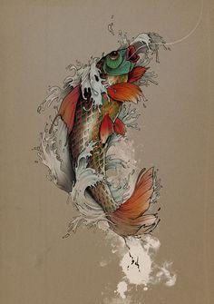 zuzaland:  Yakuza Fish by Gabz