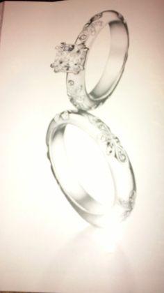 Beautiful ring set from avon.