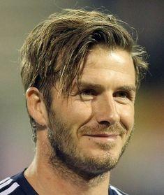 Strange David Beckham Long Hair David Beckham Casual Long Wavy Hairstyle Short Hairstyles Gunalazisus