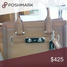 Brand New Coach Bag Beautiful New Coach bag in saddle with Tags Below retail price!! Coach Bags Totes