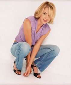 Traylor Howard (Natalie Teeger from Monk) Natalie Teeger, Traylor Howard, Monk Tv Show, Foot Pictures, Pretty Toes, Long Toes, Celebs, Celebrities, Celebrity Feet