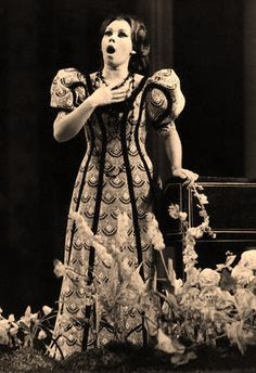 Mirella Freni, the first soprano I really listened to. She continues to be my favorite! I love everything about her.