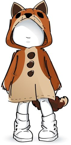 Coats for childrenin the form of a lion, fox, dino, bunny or leopard. High quality and handmade with love from the USA.