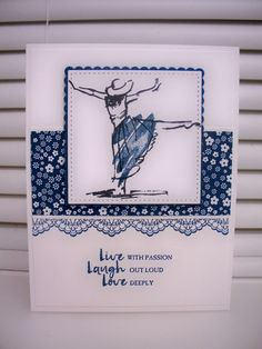 Beautiful You Dapper Denim by D. Daisy - Cards and Paper Crafts at Splitcoaststampers