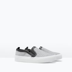 Image 2 of FABRIC PLIMSOLL from Zara