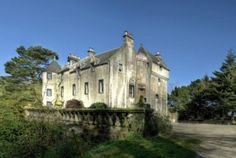 Bedlay Castle near Glasgow, Scotland, is for sale and said to be haunted by the ghost of a bishop murdered on the property in 1350 AD.