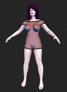 Female Model (Elisabeth) [Character]