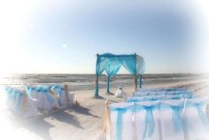 Florida beach wedding perfection from Suncoast Weddings in turquoise