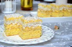 Prajitura cu cocos si crema de ananas | Miremirc Krispie Treats, Rice Krispies, Vanilla Cake, Cake Recipes, Desserts, Cream, Food, Pie, Pineapple