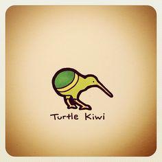 Turtle Kiwi - @turtlewayne- #webstagram