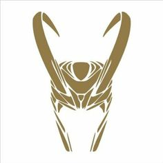 "Amazon.com: The Avengers Loki Helmet Vinyl Die Cut Decal Sticker 6"" Gold: - making this."